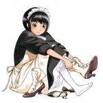 森薫先生のマニアック個人誌!【シャーリー】!13歳のロリメイド!?