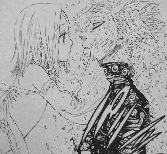 今人気のアニメ【七つの大罪】エレインが可愛すぎる!「バンエレ」カップル!