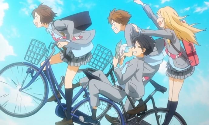 自転車四月は君の噓